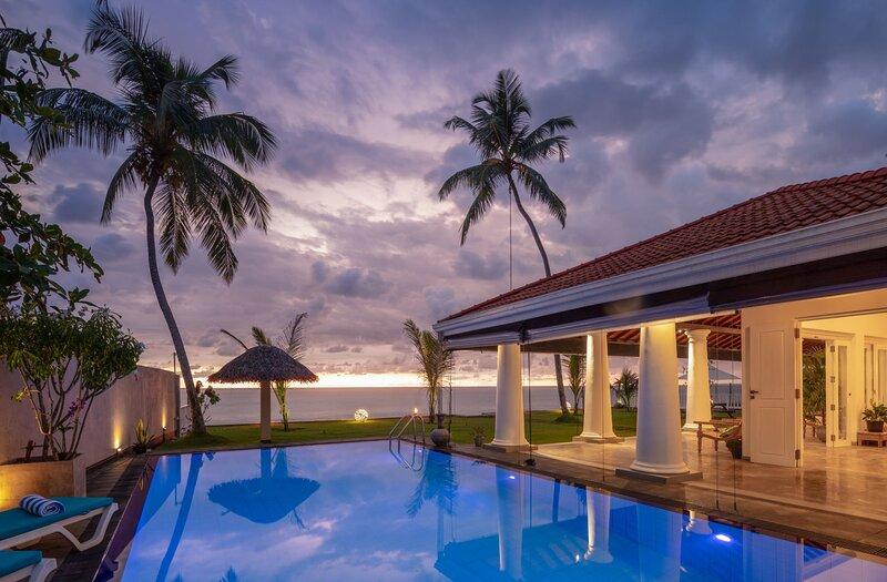 Ballarat Beach Villa, casa vacanza a Ambalangoda