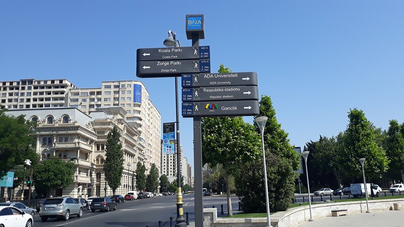 Park Richard Zorge, holiday rental in Baku
