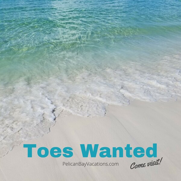 Come dip your toes in the Emerald green water of the Gulf of Mexico and enjoy our white sand beaches