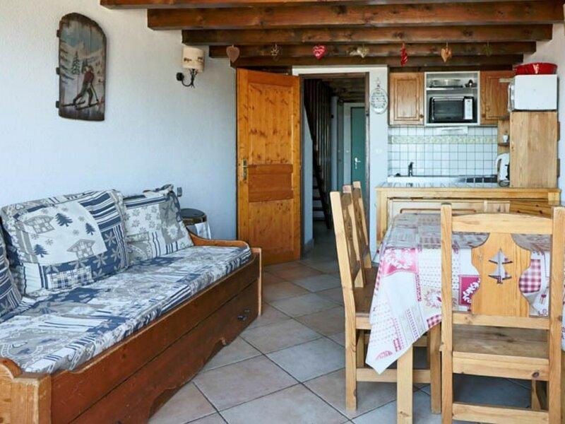 Pied des pistes, bel appartement 6/7 personnes, aluguéis de temporada em La Rosiere