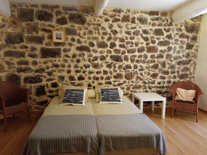 Maison de Ville Pittoresque en Pierre de Lave, holiday rental in Bessan