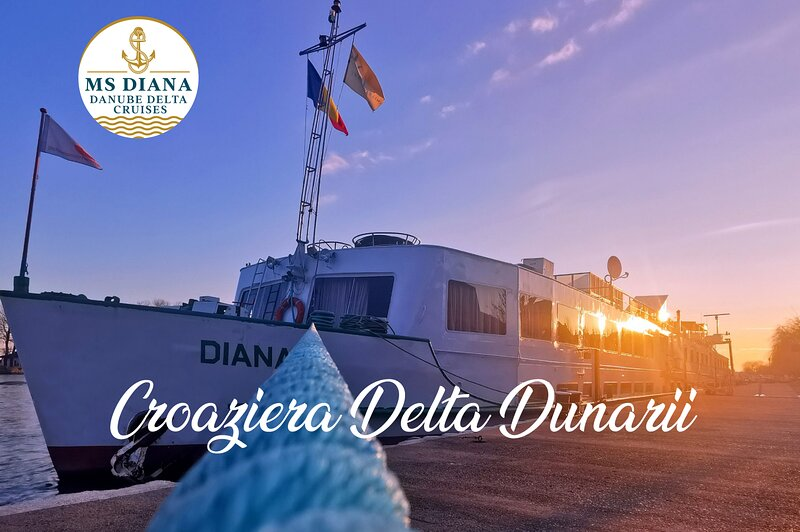 MS DIANA - Navă Croazieră Delta Dunării, România, alquiler vacacional en Sudeste de Rumanía