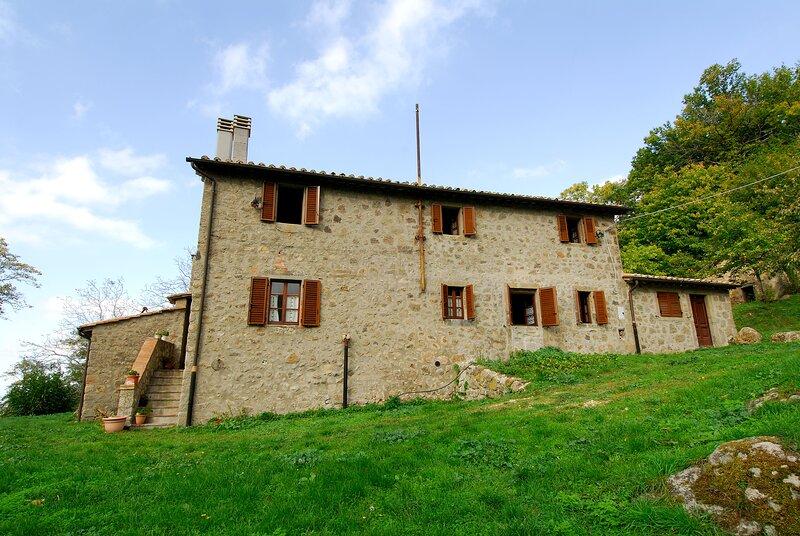 Un soggiorno immersi nel verde - Agriturismo La Piaggia - app 2 bagni, holiday rental in Vivo d'Orcia