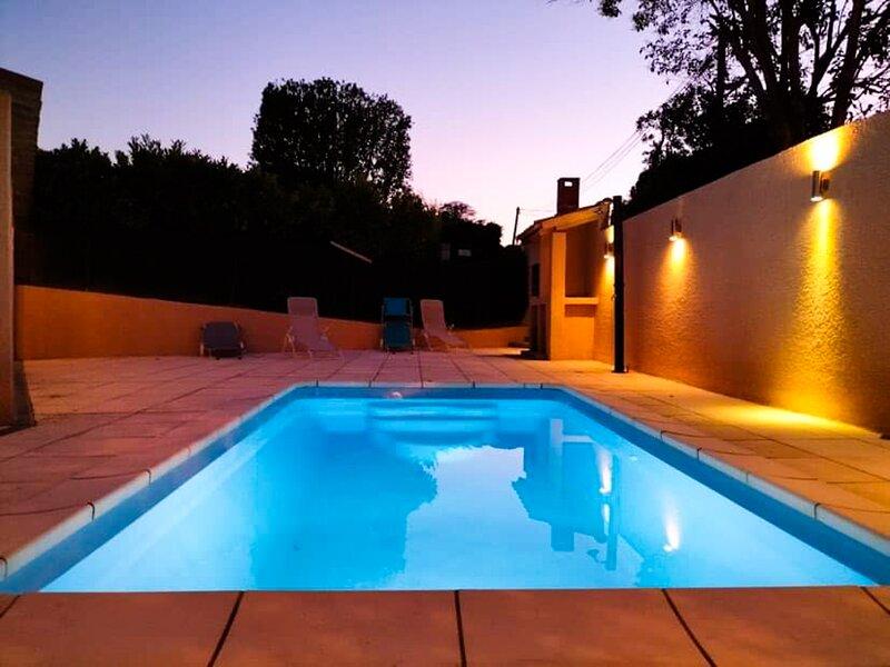 Magnifique Villa 4ch à Tourbes Près du Cap D'Agde, holiday rental in Tourbes