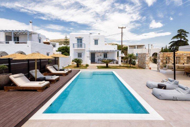 Villa Vanta II, 3 bedrooms, private swimming pool, location de vacances à Drios