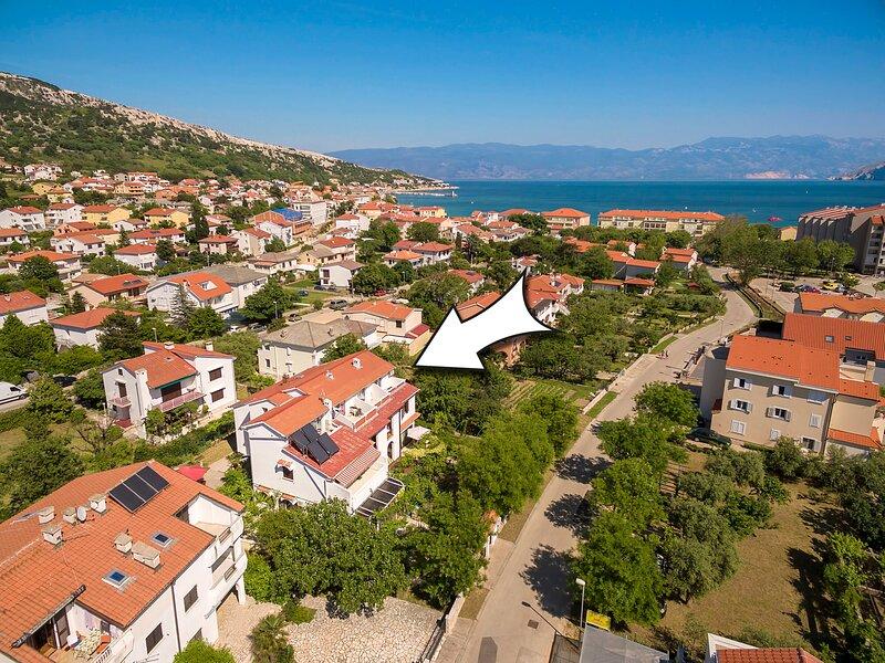 Apartments ISTRIA BASKA Fam Tomasic, location de vacances à Jurandvor
