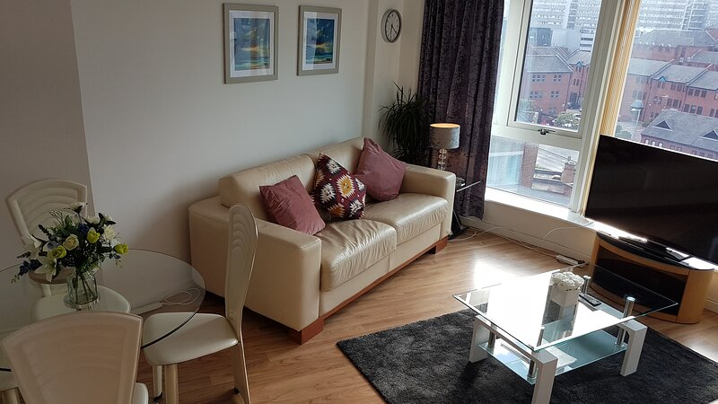 Nottingham City Centre spacious 2 bed apartment, holiday rental in Nottinghamshire