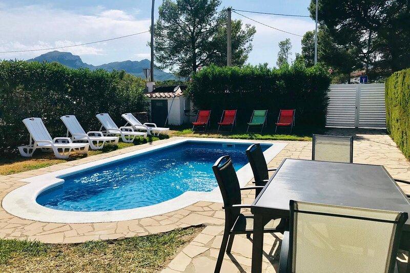 PRECIOSA VILLA EN MIAMI-PLAYA+PISCINA PRIVADA, 6 PERS., vacation rental in Masriudoms