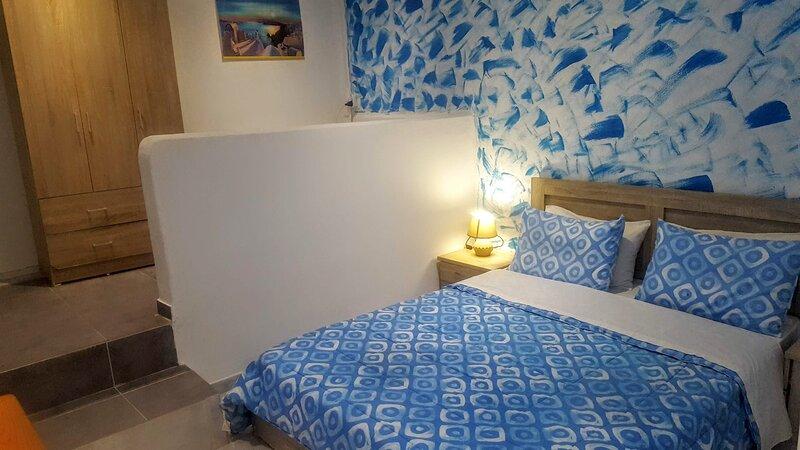 Pleasure Sea-side rooms 3, holiday rental in Agios Georgios