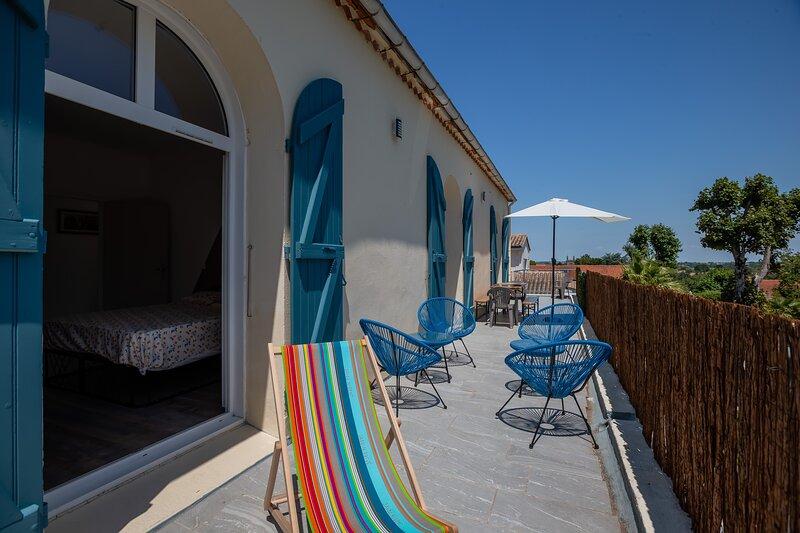 La Nouvelle Vague - Apt avec balcon et balnéo, casa vacanza a Meschers-sur-Gironde