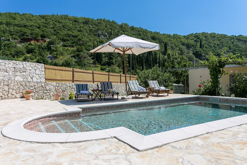 Villa Betty with Pool Village, holiday rental in Dunave Krajnje
