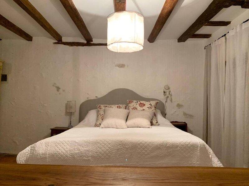 Romantic ancient cottage in Loire area, location de vacances à Malicorne-sur-Sarthe