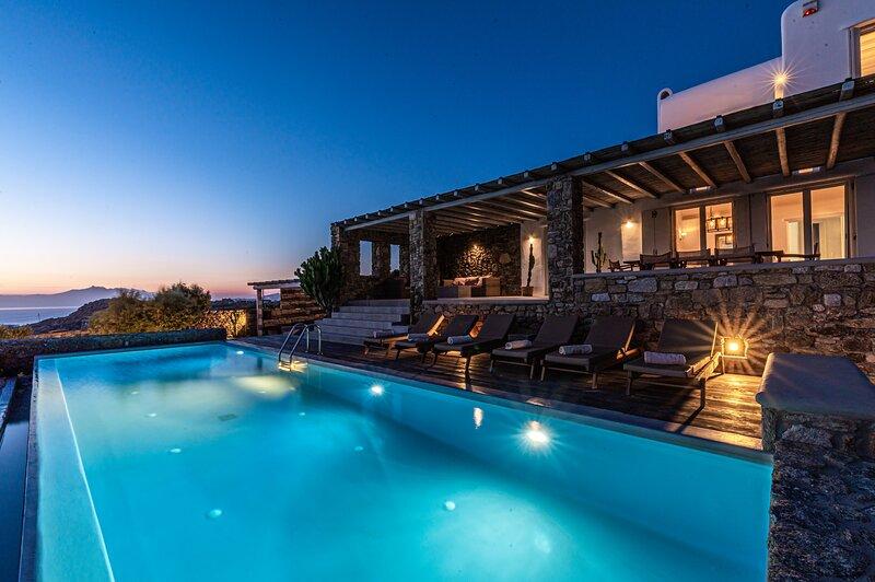 DreamLike Villa Mykonos 1, holiday rental in Ornos