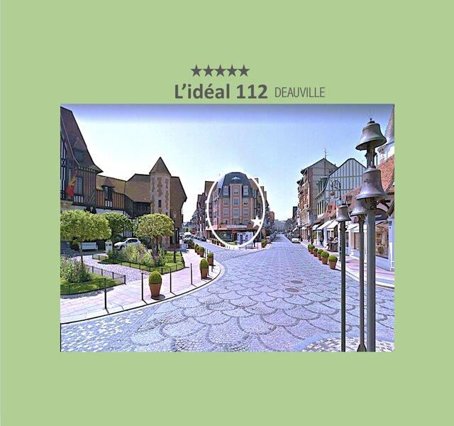 APPART DE STANDING (85M2, 2 chambres, PARKING + CABINE de PLAGE*) – semesterbostad i Deauville City
