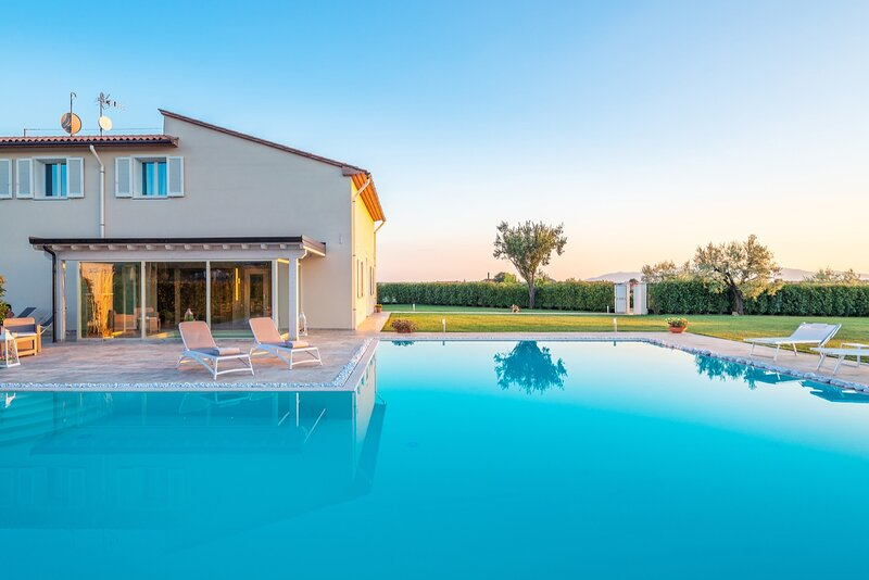 Villa Termale - Style with Elegance in Tuscany, alquiler vacacional en San Rocco