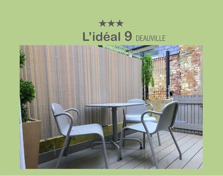 L'IDEAL 9*** : maisonnette + terrasse (Place Morny à 50m) – semesterbostad i Deauville City