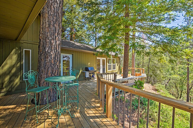 NEW! Inviting Mountain Home: 15 Mi to Dtwn Redding, holiday rental in Lewiston