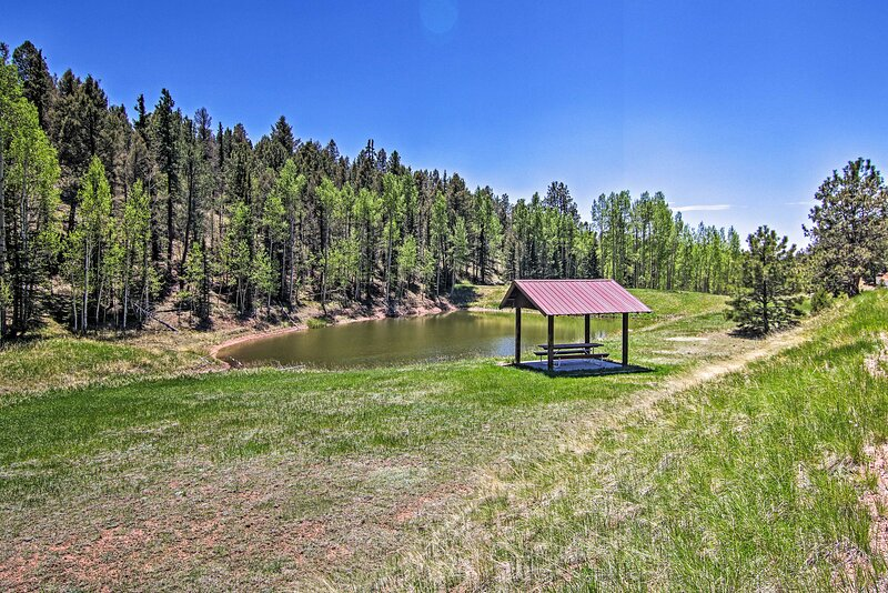 Fishing Pond | Covered Picnic Table