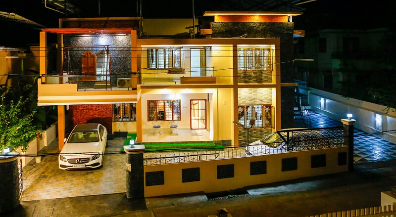 Posh 3 BHK (FF) villa at BELLJEM Homes in a housing colony inside city, holiday rental in Thrissur District