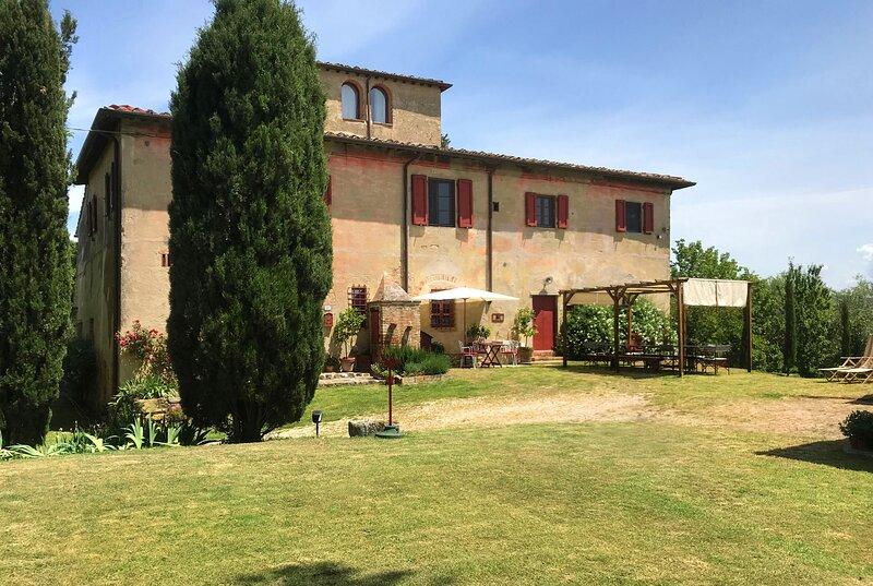 Casale Testi, Farmahouse in Chianti, Tuscany, vacation rental in Certaldo