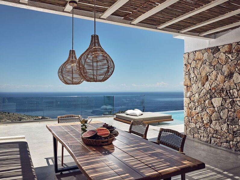 Menta Luxury Villa - Etheria Villas & Suites, holiday rental in Agios Nikolaos