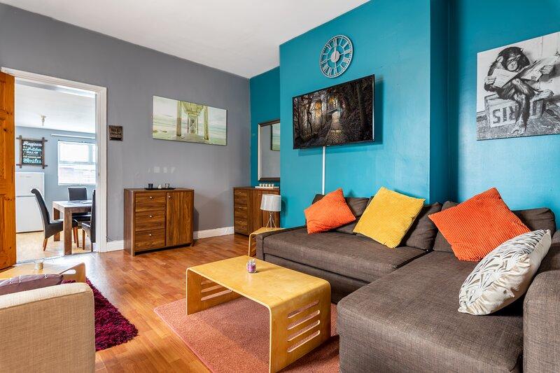 19 Guest Large Newcastle Apartment, alquiler vacacional en Gosforth