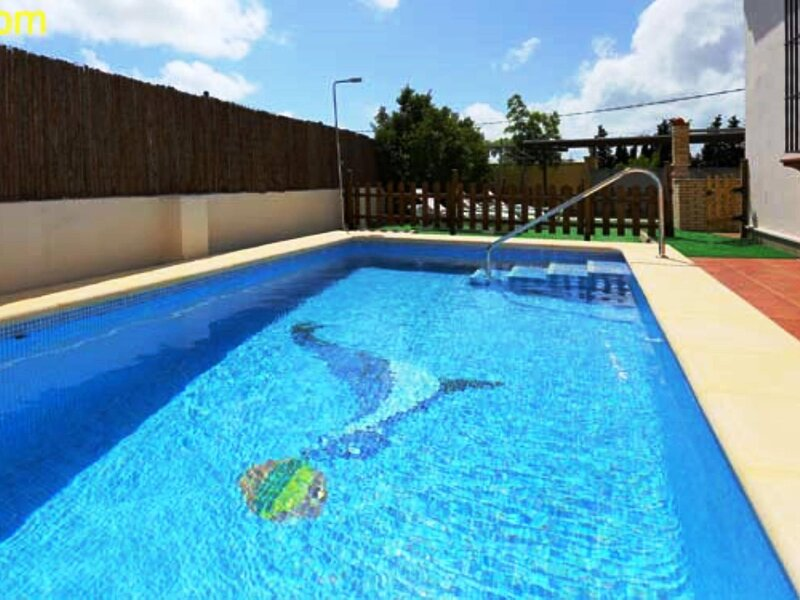 villa with private pool only families and couples, holiday rental in Roche