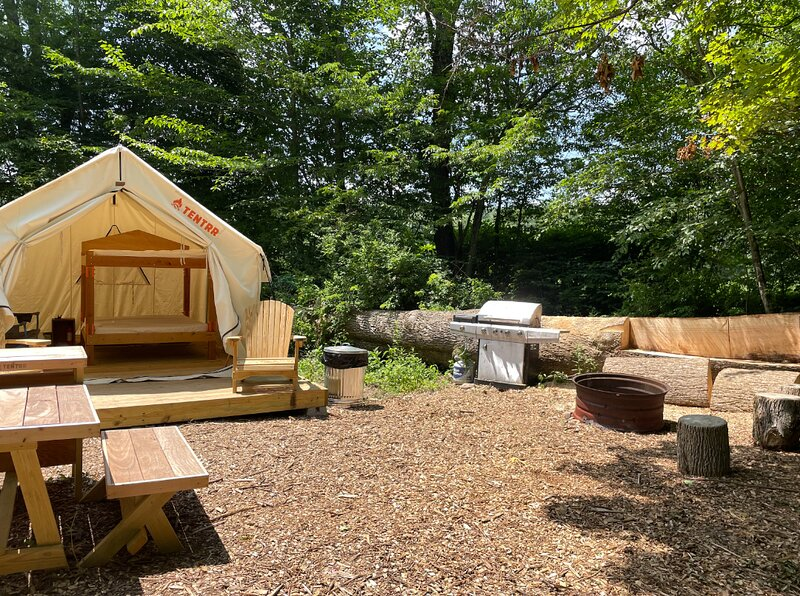Tentrr Signature Site - Wallenpaupack Creek Camp 4, vacation rental in South Sterling