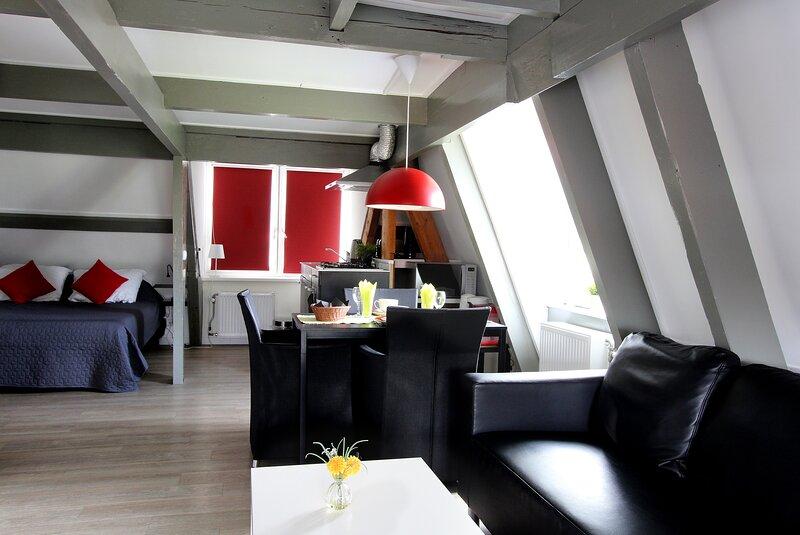 Inviting 2person studio in Egmond aan Zee, casa vacanza a Egmond-Binnen