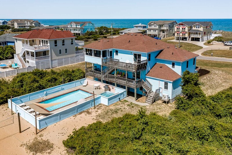 Atlantic Belle | 445 ft from the beach | Private Pool, Hot Tub | Southern Shores, vakantiewoning in Southern Shores