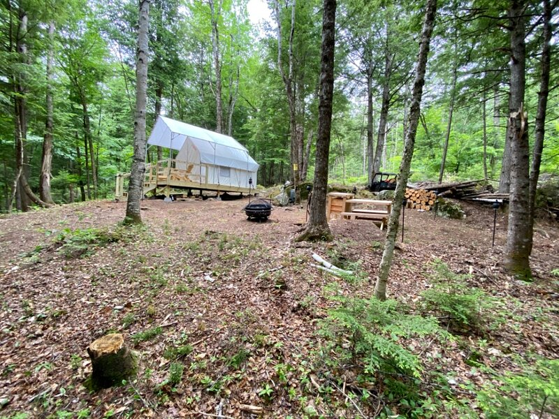Tentrr Signature Site - Rewilding on Crooked River, holiday rental in Greenwood