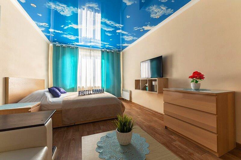 Apartament Hanaka Orekhovy 11, holiday rental in Zhukovsky