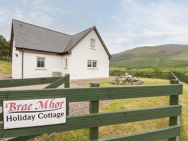 Brae Mhor Cottage, Fort William, alquiler de vacaciones en Glencoe Village