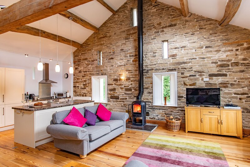 Crabtree Barn - relax in peace and luxury in the Yorkshire countryside, alquiler de vacaciones en Delph
