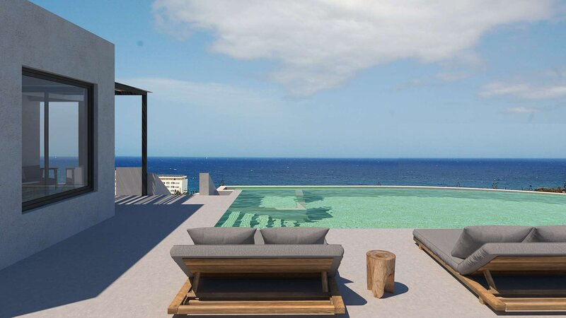 Luxury Villa w/ Private Infinity Pool, Jacuzzi & Seaview, 500m from Beach ( Z ), vacation rental in Stavromenos Rethymnis