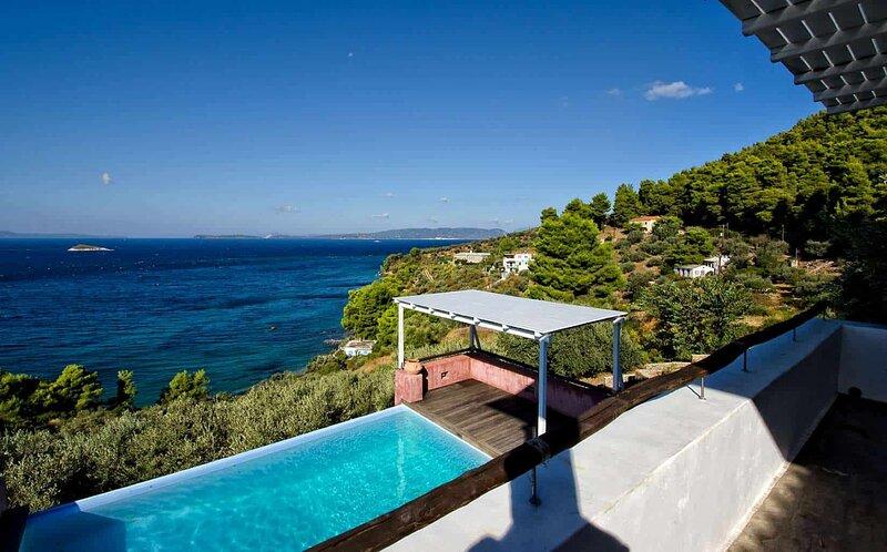 Villa Cybele in Skopelos by Olive Villa Rentals, holiday rental in Klima