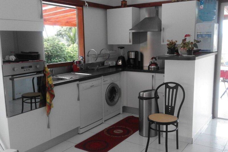 Beautiful house with sea view, casa vacanza a Marigot