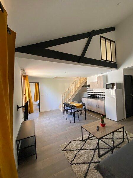 Appartement neuf au coeur des vignes *Netflix, holiday rental in Loupiac