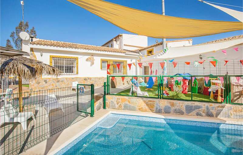 Nice home in Tallante with WiFi, 3 Bedrooms and Outdoor swimming pool (ECC750), holiday rental in Galifa