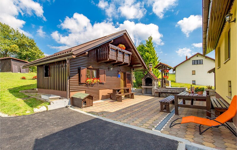 Awesome home in Prezid with WiFi and 1 Bedrooms (CKB201), holiday rental in Velike Lasce