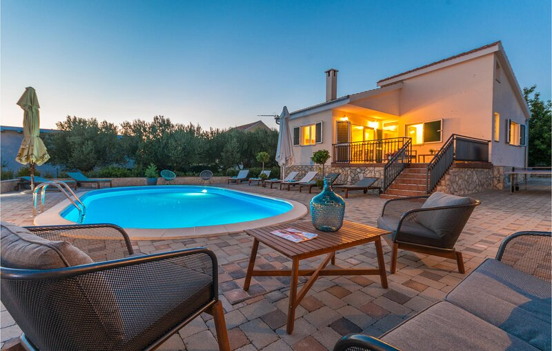 Beautiful home in Polaca with Outdoor swimming pool and 4 Bedrooms (CDA760), holiday rental in Polaca