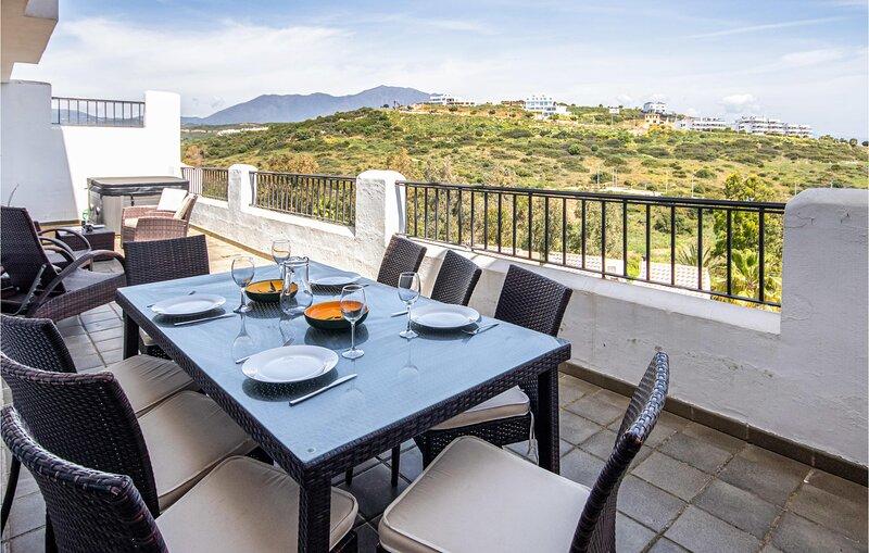 Amazing home in Bahia de Casares with 4 Bedrooms and WiFi (EAN054), holiday rental in Casares del Sol