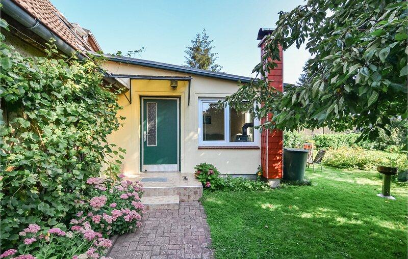 Beautiful home in Kröpelin with 1 Bedrooms (DMK348), holiday rental in Kropelin