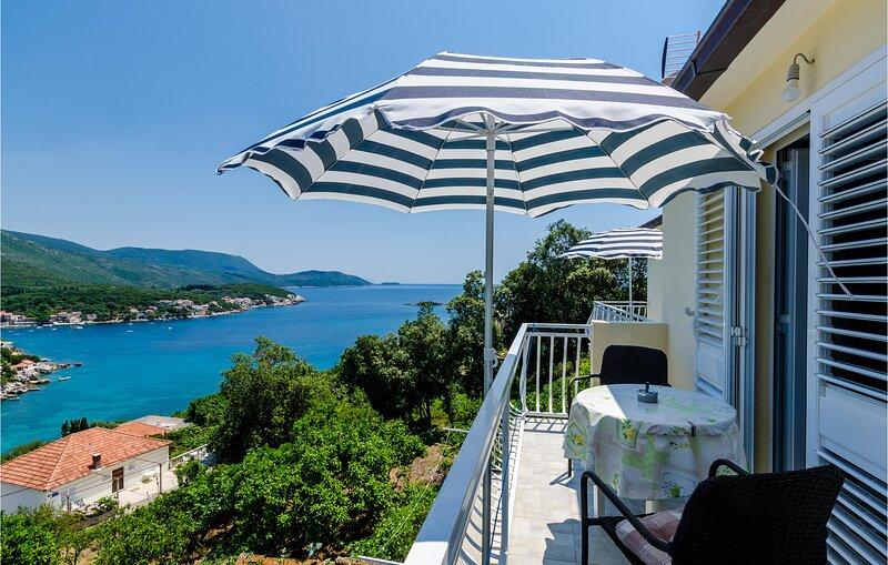 Amazing home in Gruda with WiFi and 1 Bedrooms (CDD521), alquiler de vacaciones en Molunat