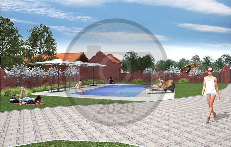 Beautiful home in Karanac with Sauna, Outdoor swimming pool and 9 Bedrooms (CCS0, holiday rental in Kopacevo