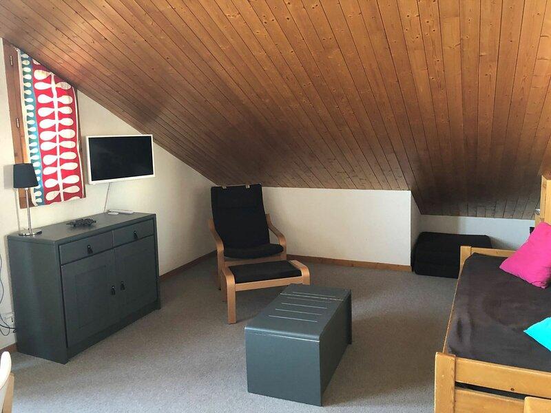 Appartement 2 pièces 5 personnes à Vallandry en centre station et proche des, holiday rental in Nancroix