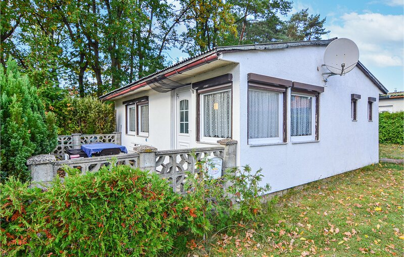 Beautiful home in Bellin with 1 Bedrooms (DMK658), holiday rental in Viereck
