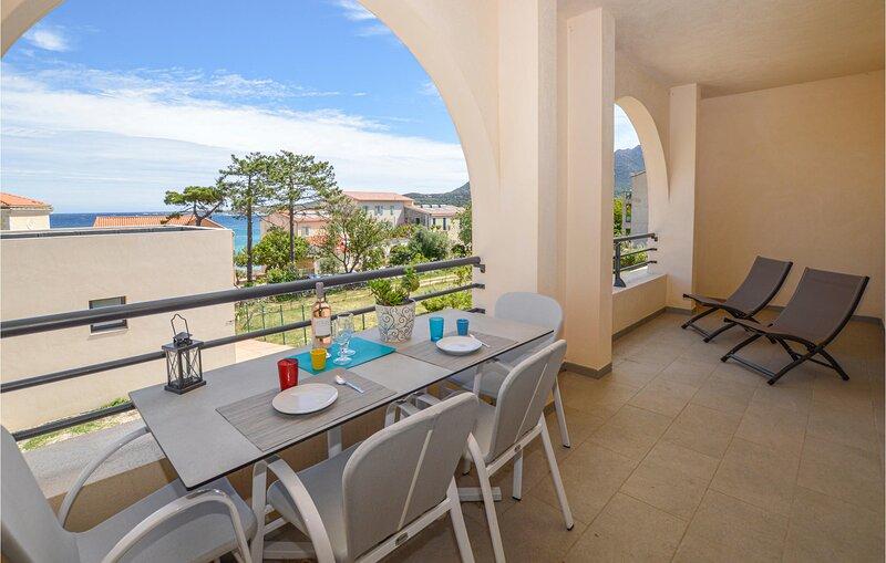 Beautiful apartment in Algajola with 2 Bedrooms (FKO424), holiday rental in Algajola