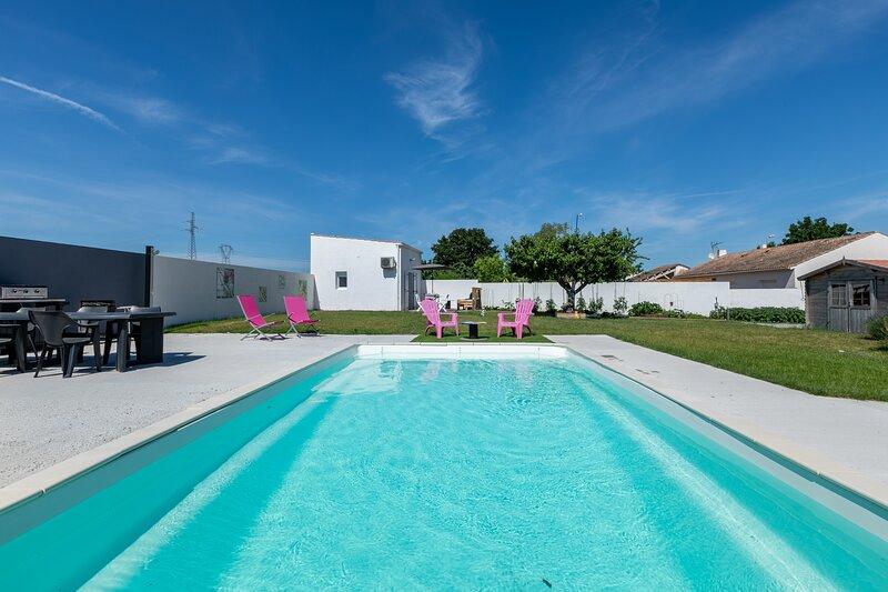 Cosy Corner - Studio avec piscine, casa vacanza a Nieul sur Mer