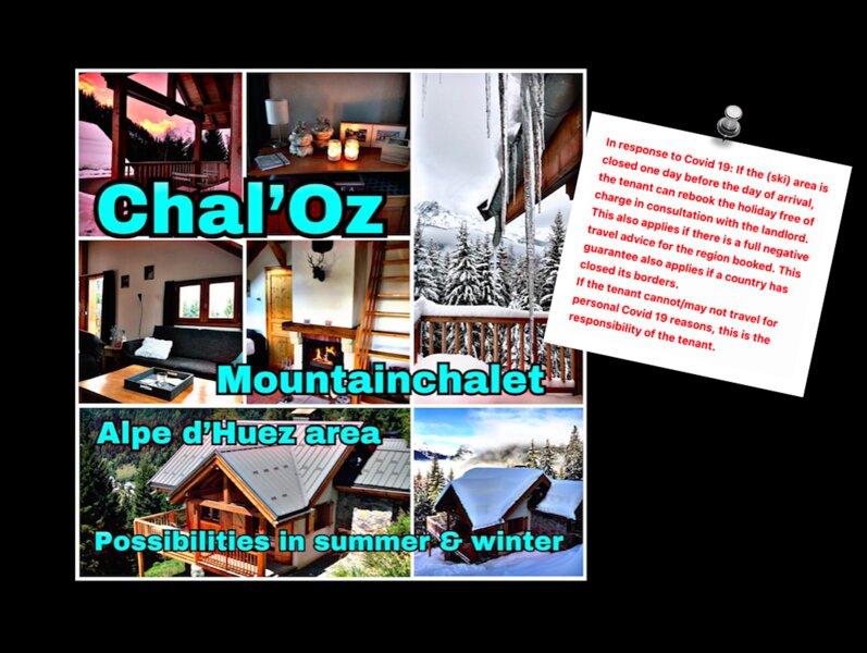 Chal'Oz, location de vacances à Allemond